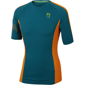 Karpos Sassongher Trikot Herren corsair/orange fluo